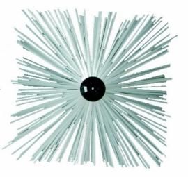 Erizos cepillo deshollinador pvc cuadrado con rosca 12 x 175 for Cepillo deshollinador chimeneas