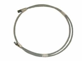 Cables de acero trenzado con rosca 12 x 175 - Cable acero trenzado ...